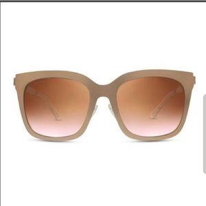 """DIFF Eyewear Bella Rose Gold Metal Frames """"Ella"""""""